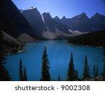 canadian rocky beautiful lake 2 | Shutterstock . vector #9002308