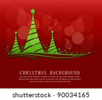 christmas background vector | Shutterstock .eps vector #90034165