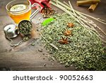Tea In Cup Green Tea Anise...