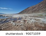 View Of The Salt Lake In Death...