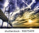 Yokohama Bay Bridge In Yokoham...