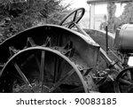 Antique Tractor Steel Wheel...