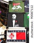 Постер, плакат: Souvenir Stand on the
