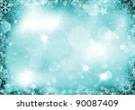 christmas background with... | Shutterstock . vector #90087409