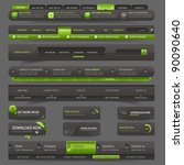 web site design template...   Shutterstock .eps vector #90090640