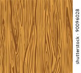 Wood Brown Background. Vector