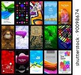 variety of 15 vertical business ... | Shutterstock .eps vector #90098674