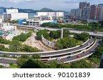 city traffic system   curve... | Shutterstock . vector #90101839