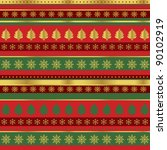 wrapping paper for christmas | Shutterstock .eps vector #90102919