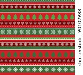 christmas background  wrapping... | Shutterstock .eps vector #90102988