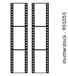 35 mm film  vector | Shutterstock .eps vector #901053