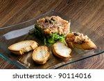 salmon tartar | Shutterstock . vector #90114016