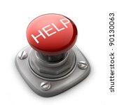 red help button isolated high... | Shutterstock . vector #90130063