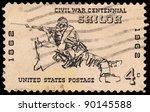 Usa   Circa 1961  A Stamp...
