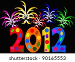 new year day | Shutterstock .eps vector #90165553