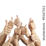 many different hands with...   Shutterstock . vector #90167311