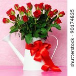 Stock photo red roses 90174835