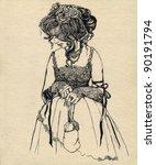 Fancy Woman 19 Century. Part 6