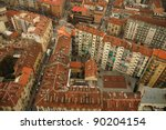 geometrical buildings from mole ... | Shutterstock . vector #90204154