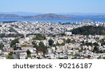 Panoramic View Of San Francisc...