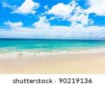 Tranquility Shore Landscape