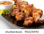 Hot Meat Dishes   Fried Chicke...