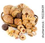 Bakery Foodstuffs Set On A...
