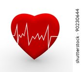 heart attack | Shutterstock . vector #90230644