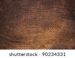Background Of Natural Burlap...