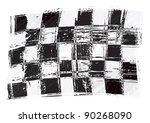 racing flag | Shutterstock .eps vector #90268090