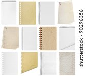 a page paper texture ripped off ... | Shutterstock . vector #90296356