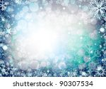 christmas background from... | Shutterstock . vector #90307534
