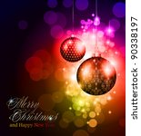 elegant greetings background... | Shutterstock . vector #90338197