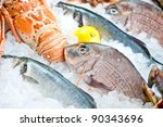 Fresh Fish And Seafood...