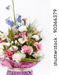 bouquet of colorful flowers | Shutterstock . vector #90366379