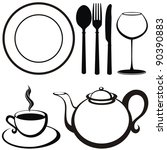 Food And Drink Icons....