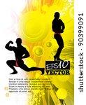 bodybuilder | Shutterstock .eps vector #90399091