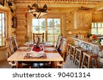 The Formal Dining Room In A...