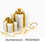 illustration of boxes with...   Shutterstock . vector #90434065