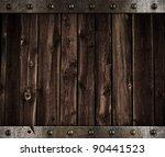 Old Metal And Wood Medieval...