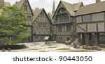 Marketplace In The Centre Of A...