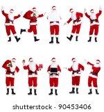 Happy Traditional Santa Claus....