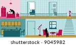 at home | Shutterstock .eps vector #9045982
