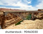 navajo bridge over the colorado ... | Shutterstock . vector #90463030