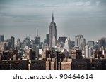 new york view | Shutterstock . vector #90464614