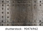 Armour Metal Background With...