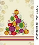 creative colorful stylish xmas... | Shutterstock .eps vector #90488272