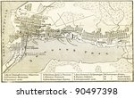 plan of vladivostok    an... | Shutterstock . vector #90497398