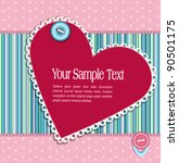 background  with a button  card ... | Shutterstock . vector #90501175