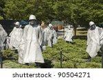 Korean War  Memorial Nineteen ...